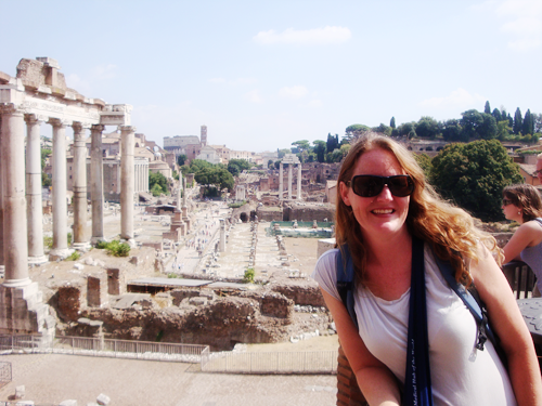 traveling with a sister, international travel, European trip with family, Portugal, sister's birthday, Roman Forum, Rome